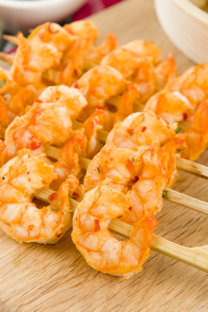 HCG Spicy Grilled Shrimp Recipe