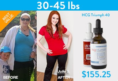 HCG Weight loss before and after 1